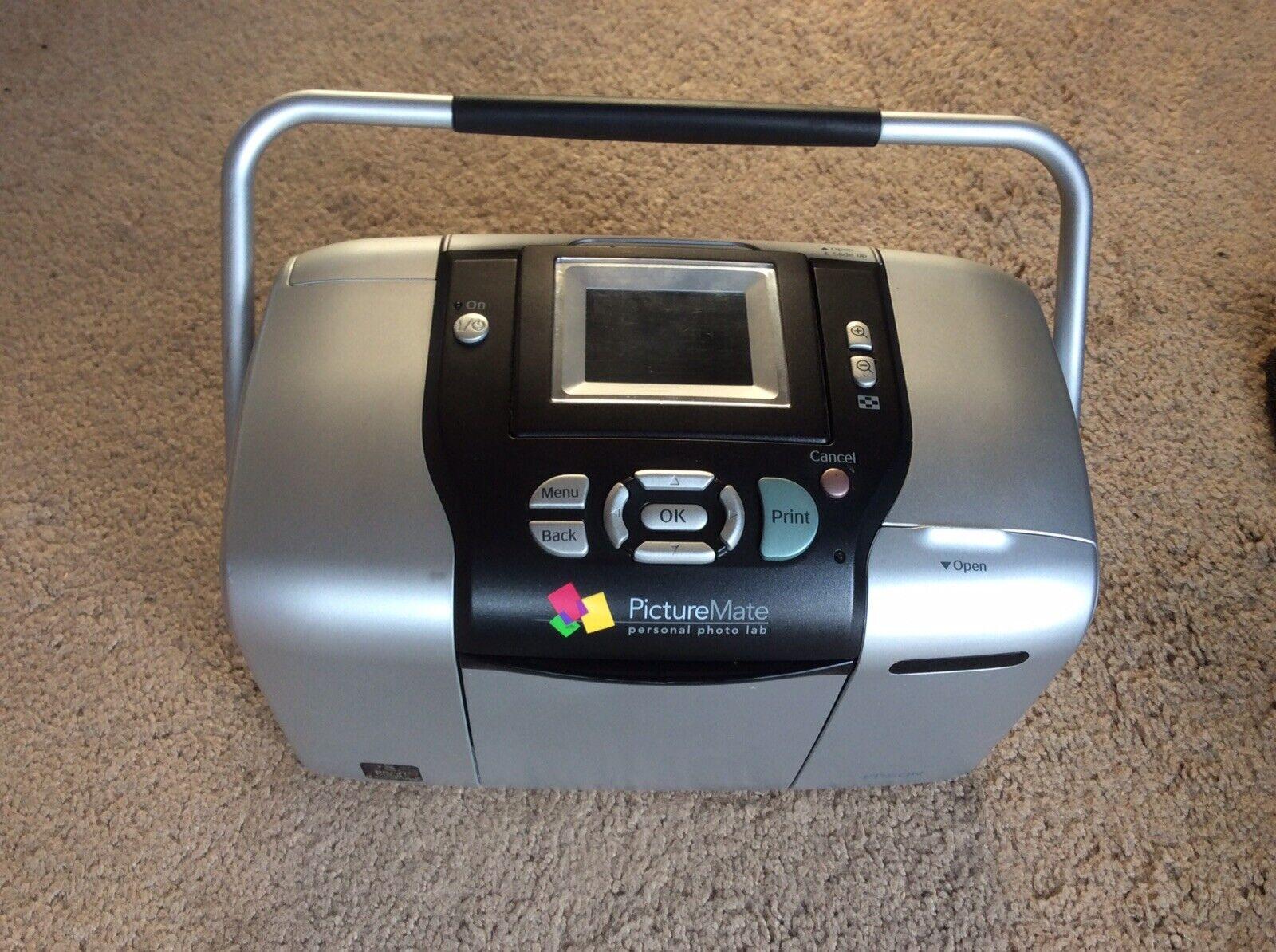 Epson Picturemate 500 Digital Photo Inkjet Printer For Sale Online Ebay