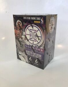 2019 2020 Panini Illusions NBA Basketball 1 Blaster Box New Factory Sealed