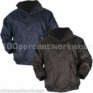 Blackrock Work Wear Bomber Jacket Coat Mens WATERPROOF Navy Blue ...