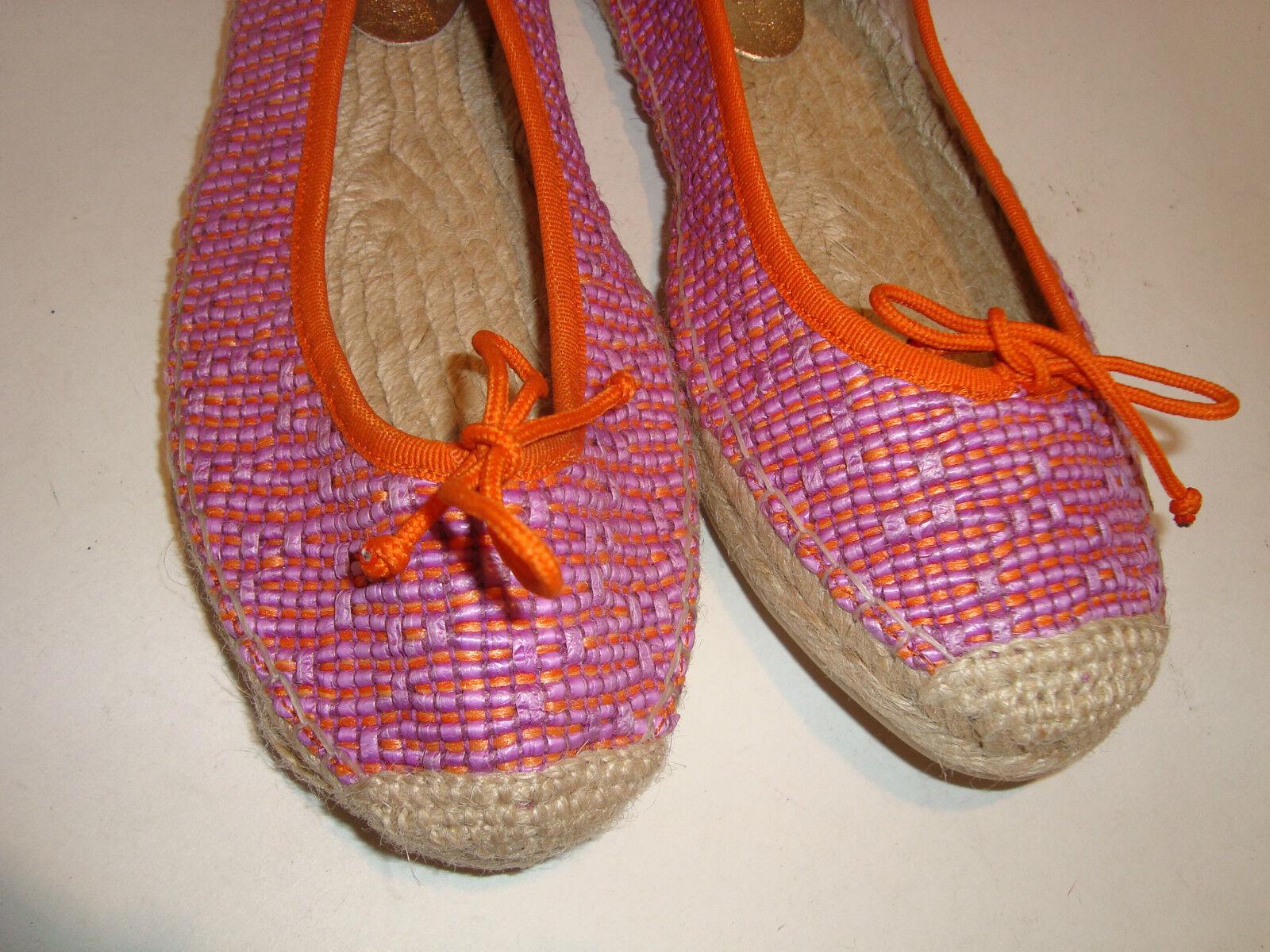 Ivanka Trump Farbe New Damenschuhe Megan Multi Farbe Trump Flat Schuhes 8 Medium ac321e