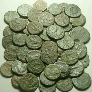Lot 5 Ancient Roman coin Constantine Valentinian Licinius Consantius Claudius