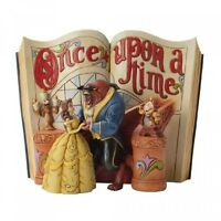 Enesco Disney Traditions By Jim Shore Beauty And The Beast Storybook Figurine, on sale