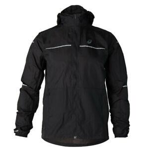 ASICS-Men-039-s-Lite-Show-Winter-Running-Gym-Jacket-Clothes-2011A319-Black-Sz-2XL