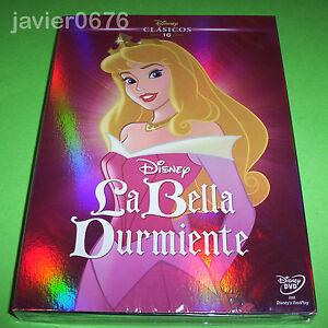 LA-BELLA-DURMIENTE-CLASICO-DISNEY-NUMERO-16-DVD-NUEVO-Y-PRECINTADO-SLIPCOVER
