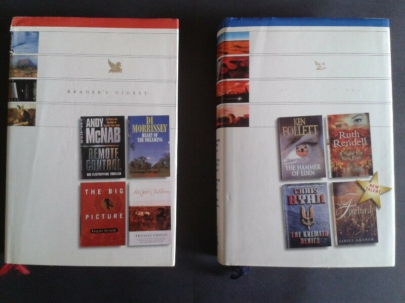 2 Reader's Digests Select Editions for this price - Ken Follett, Andy McNab.