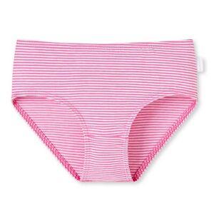 d2b6fb1fa2c457 SCHIESSER Mädchen Slip Shorts Unterhose Slips Mini Stripes pink NEU ...