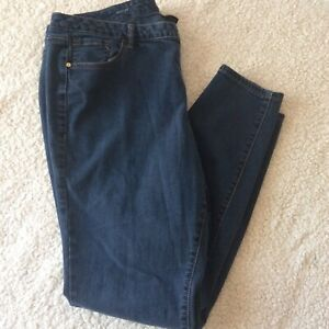 Lane-Bryant-Skinny-Jeans-Womens-Size-20-Long-Plus-Size-Denim