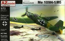 MESSERSCHMITT Bf-109 H-1/R6 HIGH ALTITUDE FIGHTER (LUFTWAFFE MKGS) 1/72 AZ MODEL