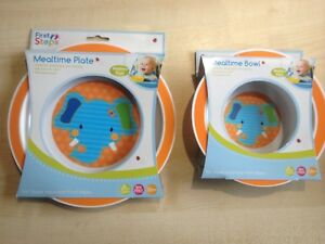 Feeding Cups, Dishes & Utensils First Steps Baby Feeding Set Plate Bowl