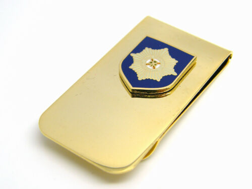THE IRISH GUARDS BADGE MONEY CLIP ARMY MILITARY GIFT IN BOX