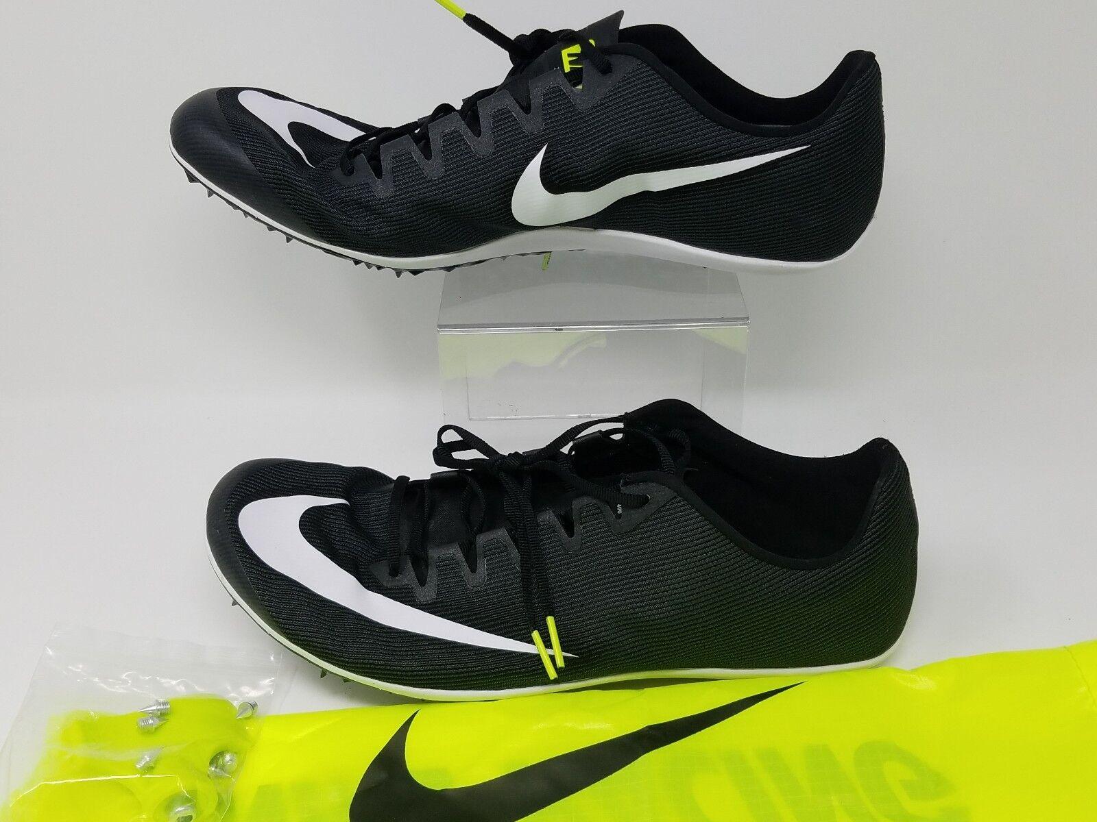 Nike zoom 400 schwarz leichtathletik spikes männer ist schwarz 400 - weiß - größe 12 aa1205-001 073885