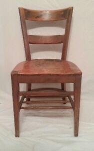 Art deco office chair Vintage Image Is Loading Vintageantiqueslatbacksolidwalnutdeskchair Ebay Vintage Antique Slat Back Solid Walnut Desk Chair Office School