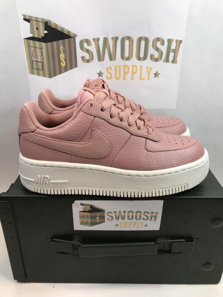 Nike Upstep Womens Air Force 1 Upstep Nike Basketball Shoes 917588-601 Particle Pink Sz 9 4a8440
