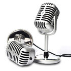 Professional 3.5mm Podcast Studio Microphone Mic For Skype Desktop PC Notebook