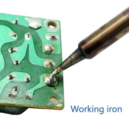 AideTek 15-in-1 60W Soldering Iron KitWelding Tool Desoldering Pump SPD0 USA