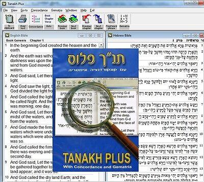 Tanakh Plus Software Bible Gematria Calculator & Dictionary Concordance  Download | eBay
