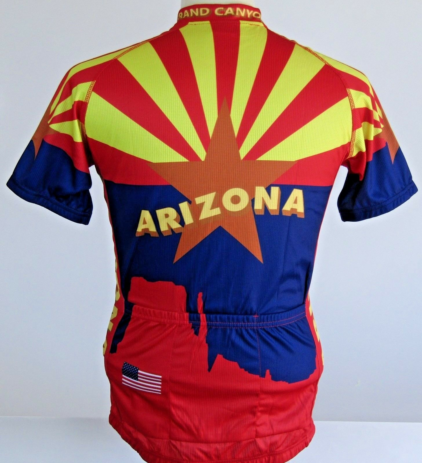 Cycling   Jersey  ( Arizona State Flag)  designer online