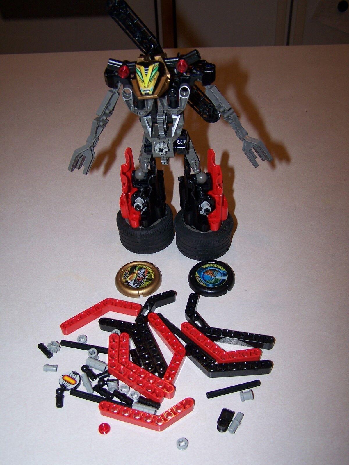 Lego 8520 Millennium   Millennia Technic Throwbot Slizer Slizer Slizer 100% Complete 4167b1