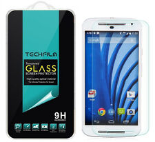 TechFilm® Tempered Glass Screen Protector Saver Shield For Motorola Moto G EXT
