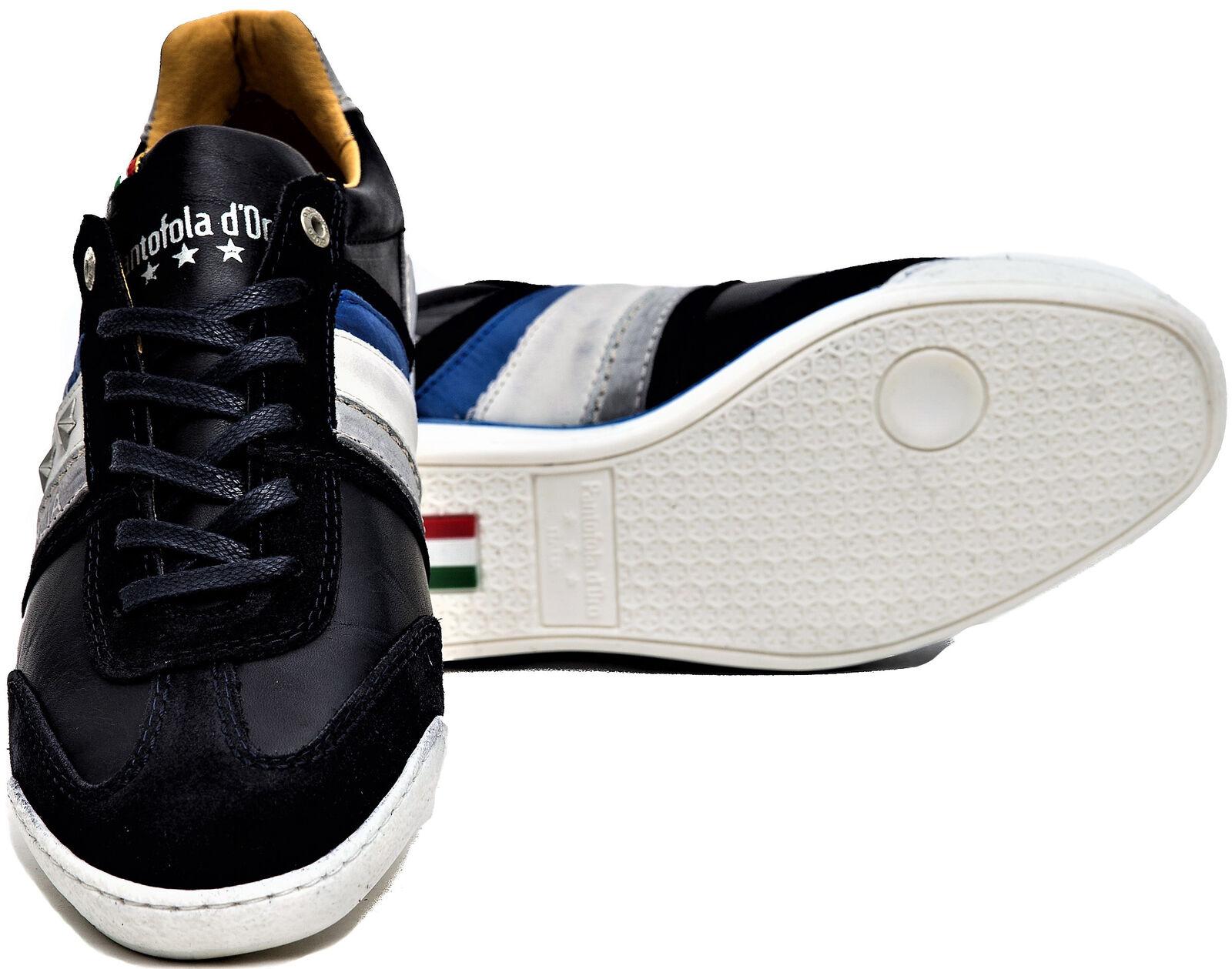 Uomo Blu Pantofola d'Oro Low Shoes Uomo Blue Imola Low d'Oro c4c38b
