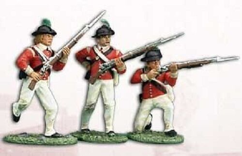 BRITAINS 17357 LIGHT INFANTRY COMPANY, 40TH REGIMENT OF FOOT 1777