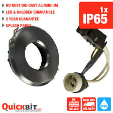 Bathroom lights Downlights IP65 Satin Chrome GU10 LF18-1