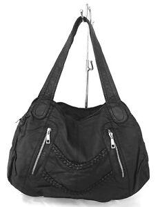 819088bcca5f3 Das Bild wird geladen Tasche-Damentasche-Handtasche -softtasche-Schultertasche-bag-weich-soft-