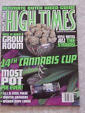 High Times Magazine issue 320 April 2002 14th Cannabis Cup
