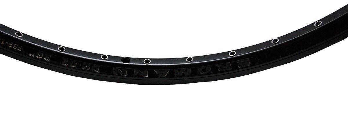 40 Loch Felge Erdmann DH-02 559 19 black für Disc oder V-Brake