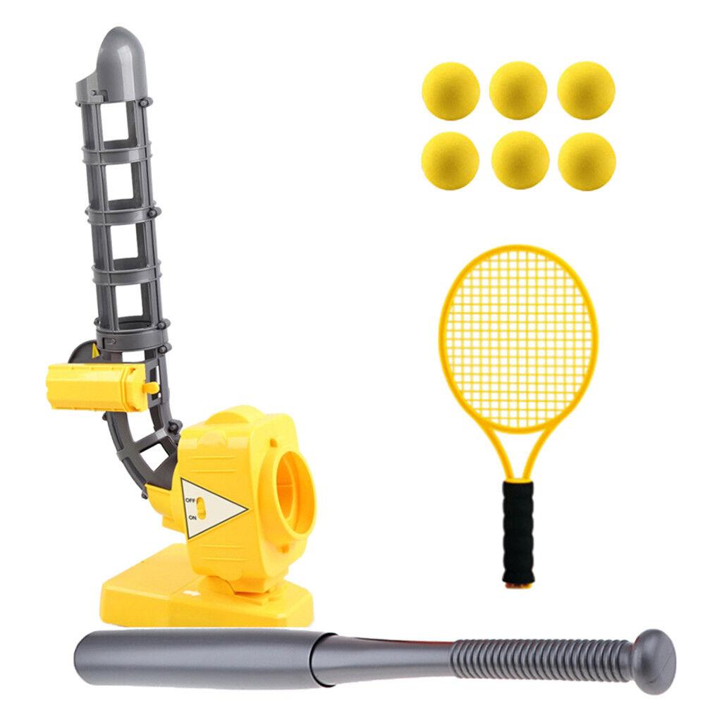 2 in 1 Baseball & & & Tennis Training Maschine Set inkl. Pitching Maschine + d6574f