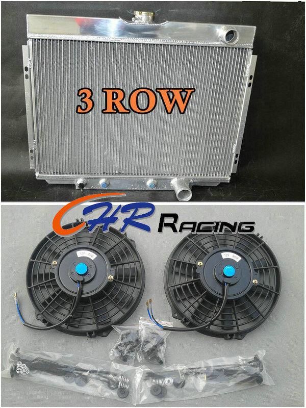 3 ROW ALUMINUM RADIATOR 1967-1970 Ford Mustang Mercury Cougar//XR7//Torino 68 69