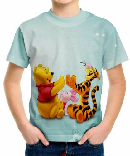 Tigger Boys Kid Youth T-Shirt Tee Age 3-13 New