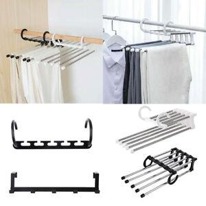 New-Plastic-Magic-Hanger-Wardrobe-Closet-Bar-Clothes-Coat-Organizer-Space-Saver