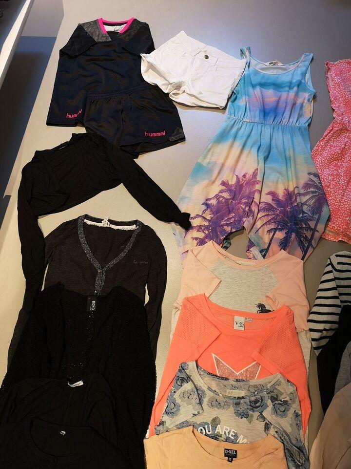 Andet, Tøjpakke til pige str. 10-11 år, Ukendt