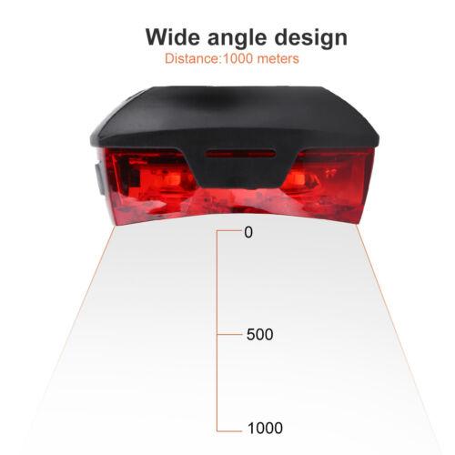 2LED Bright Cycling Bicycle Bike Safe Rear Tail Flashing Back Light Warning Lamp