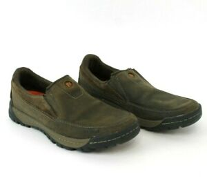 Merrell-Canteen-Slip-On-Leather-Casual-Shoes-Hiking-Brown-J42107-Mens-Size-8