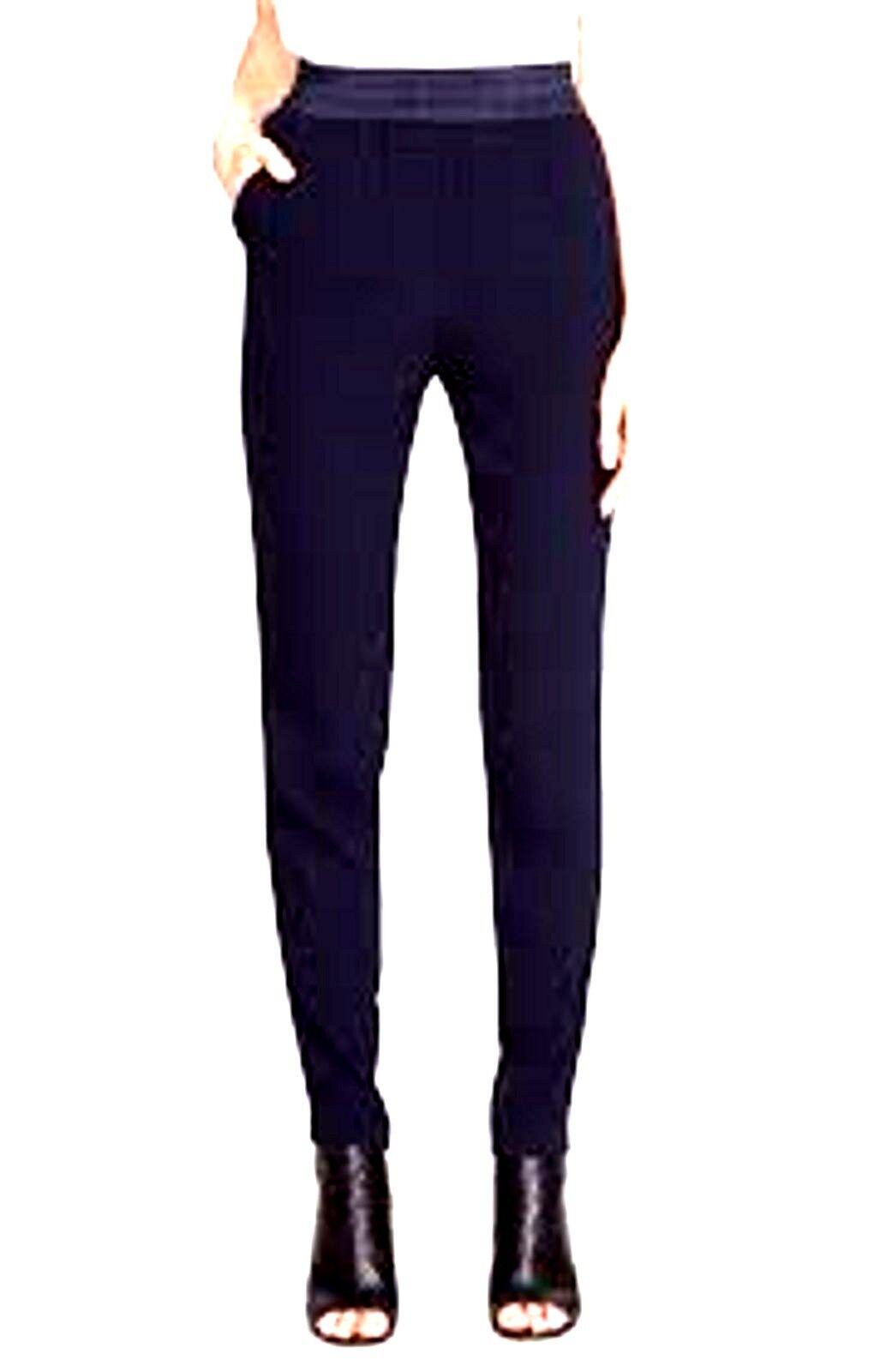 250 NWOT REBECCA TAYLOR  EMMA  NAVY blueE DRESS PANTS SIZE 4