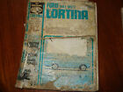 Ford Cortina MK I & II 1962 - 1970 no. 68 Workshop Manual