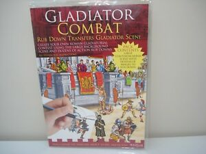 Gladiator Combat Rub Down Transfers Gladiator Scene