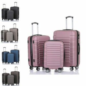 Koffer-2088-Hartschalenkoffer-Trolley-Reisekoffer-M-L-XL-Kofferset-Handgepaeck