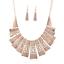 Fashion-Jewelry-Alloy-Choker-Chunky-Statement-Bib-Pendant-Women-Necklace-Chain thumbnail 12