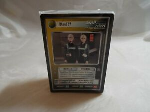 STAR TREK CCG REFLECTIONS SUPER RARE DATA kaartspellen Verzamelingen