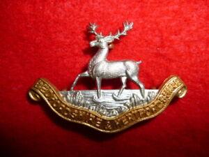 Bedfordshire-amp-Hertfordshire-Regiment-Bi-metal-Collar-Badge-British-Army
