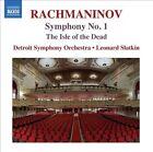 Rachmaninov: Symphony No. 1; The Isle of the Dead (CD, Sep-2013, Naxos (Distributor))