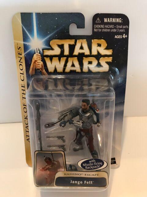 Star Wars Jango Fett Kamino Escape Collection1 Action Figure