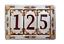 miniature 15 - NUMERO CIVICO DA ESTERNO IN CERAMICA PERSONALIZZABILE 100% MADE IN ITALY