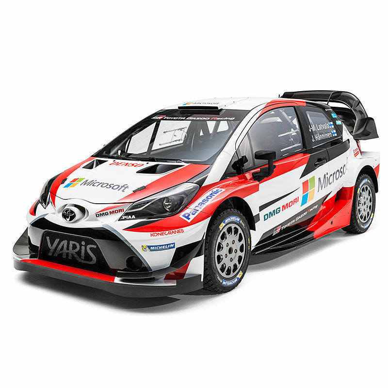 TAMIYA RC 58659 Toyota Yaris Gazoo Racing WRC TT-02 1 10 Assembly Kit