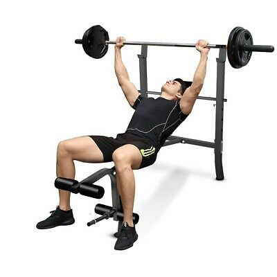 Adjustable Weight Bench Fitness Lift Workout Training Press Home Gym Sit Up Abs