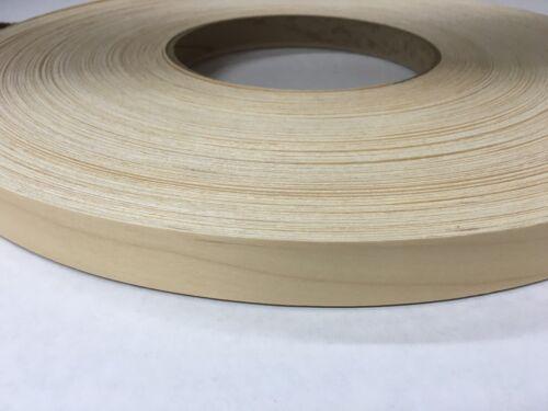 """birch prefinished pre glued 7//8/""""x25/' wood veneer edgebanding"""