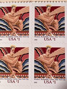 Stamps. #3766 block. CV $15.00